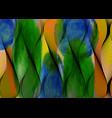 african wax print fabric watercolour ankara style vector image