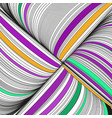 background with complicated ornament of threads vector image vector image