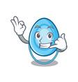 call me oxygen mask mascot cartoon vector image