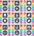 Charging Gear Folder Battery Mobile phone USB MP3 vector image vector image