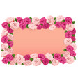 Flower Board vector image vector image