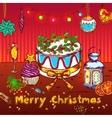 Merry Christmas Sketch Card