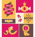 Mothers day greeting card vector | Price: 3 Credits (USD $3)