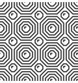 octahedron tile geometric seamless pattern vector image