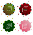 patterns setabstract background for design vector image vector image