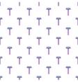 Razor pattern cartoon style vector image vector image