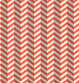Seamless Retro Abstract Red Toothed Zig Zag Paper vector image vector image