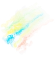 Watercolor art hand paint EPS10 vector image
