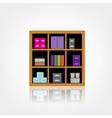 Wooden Cabinet vector image