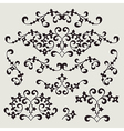 7floral line 62 1 vector image vector image