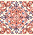 asian seamless pattern floral background vector image vector image