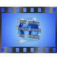 international film vector image vector image