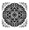 mandala elegant design vector image