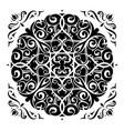 mandala elegant design vector image vector image