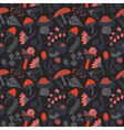 Nature colorful background with childish character vector image vector image