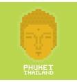 Phuket Thailand pixel art card vector image vector image