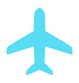 plane icon simple minimal 96x96 pictogram vector image vector image