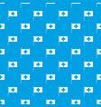 switzerland flag pattern seamless blue vector image vector image