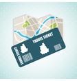 travel concept design vector image vector image