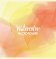 abstract watercolor splash multicolor watercolor vector image