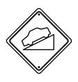 decline traffic signal information icon