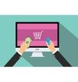 online payment vector image vector image