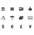 12 Cash Icons vector image