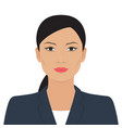asian business woman vector image vector image
