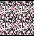 geometrical seamless pattern - concentric circle vector image vector image