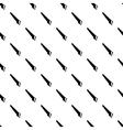 Hacksaw pattern seamless vector image