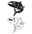 mackerel vector image vector image