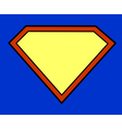 Super hero background vector image vector image