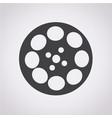 video film icon vector image vector image