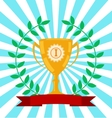 Winners award vector image