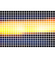 blue yellow orange black abstract rounded mosaic vector image vector image