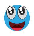 emoticon happy april fools day vector image vector image