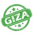 Giza green stamp vector image vector image