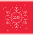 happy new year merry christmas background vector image