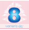 March 8 Womens Day vector image