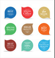 modern sale badges collection 2 vector image vector image