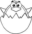 Penguin cartoon vector image vector image