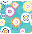 spring stylized flowers vector image