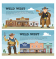 Wild west cowboy character saloon western
