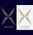 abstract wing vector image