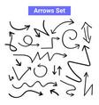 arrow handdrawn curve icon doodle