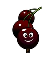Cartoon tasty currant berries vector image vector image