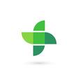 Cross plus bird mosaic medical logo icon design vector image vector image