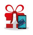 e-commerce concept design vector image vector image