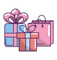 ecommerce online shopping cartoon vector image vector image