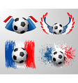 France football championship vector image vector image